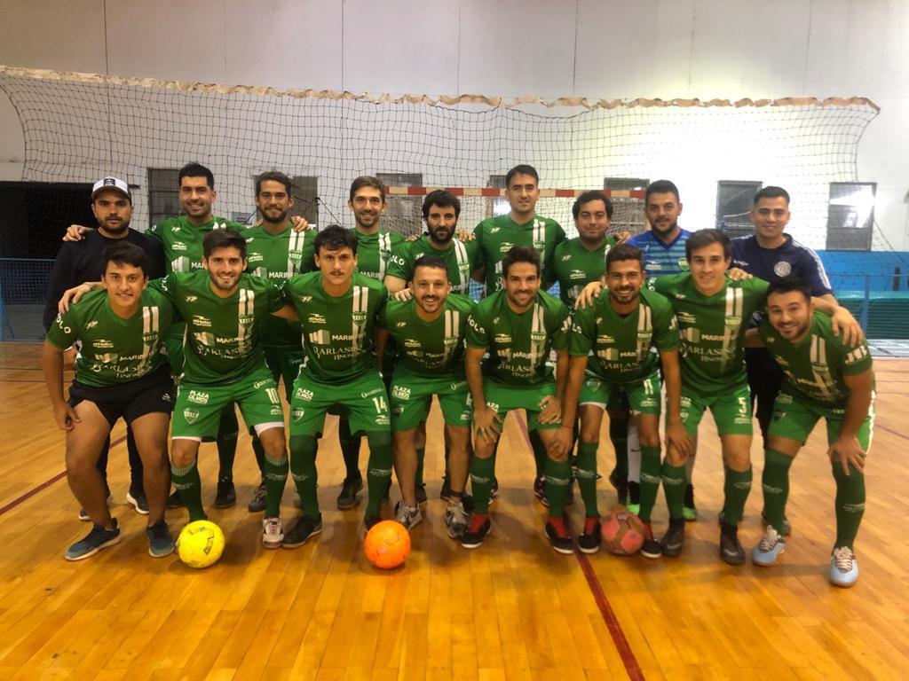 """El equipo del """"verde"""" en futsal para la próxima temporada."""