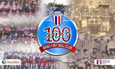 Gráfico del centenario de Arias FC