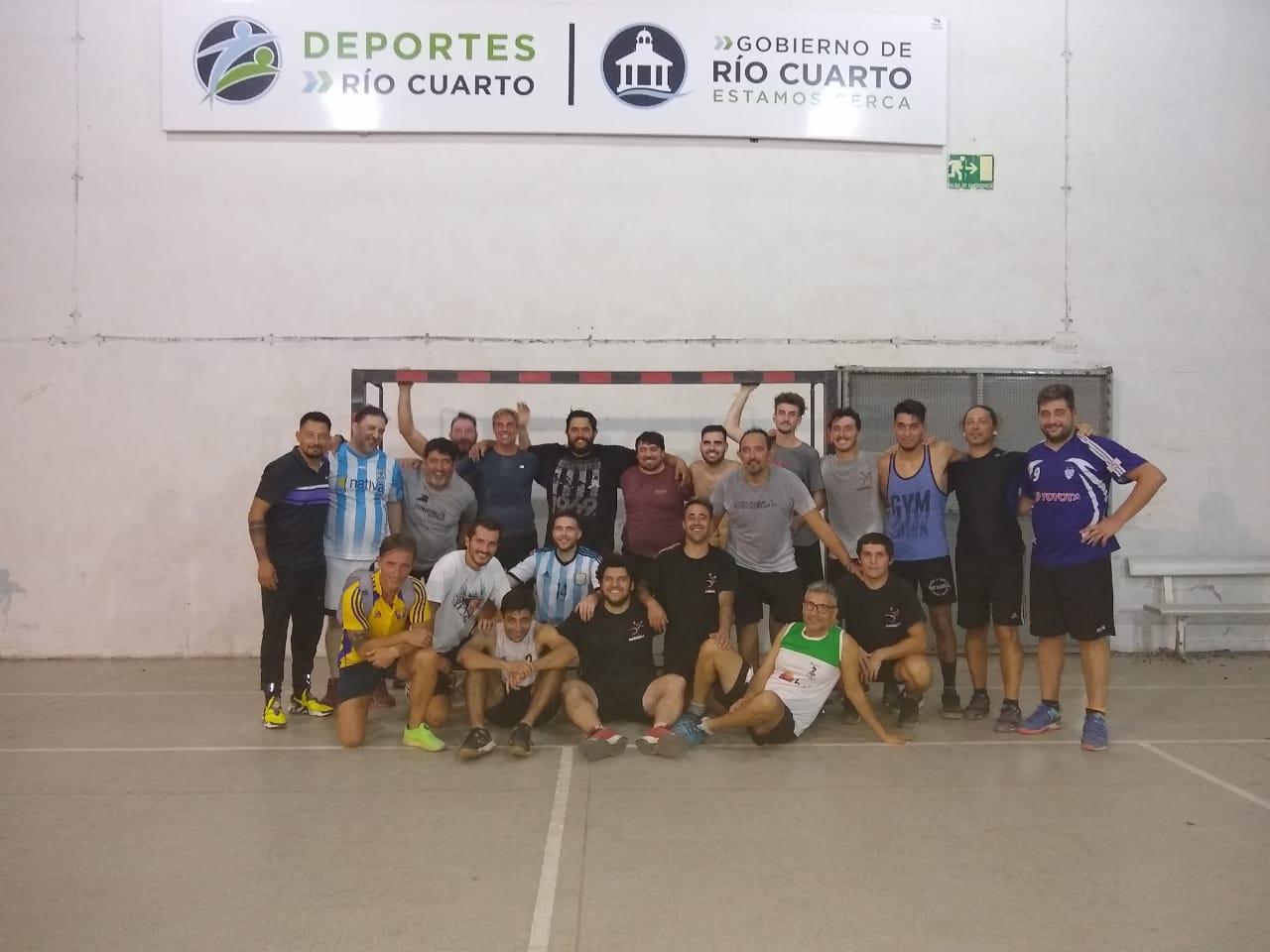 El equipo ex Río Cuarto Handball, que jugará bajo el nombre de Acción Juvenil.