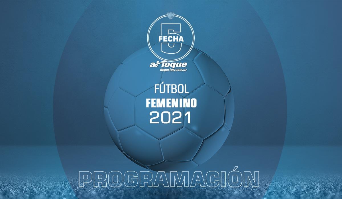 La jornada dominical del próximo 18 de abril recibirá siete partidos de los certámenes de fútbol femenino.