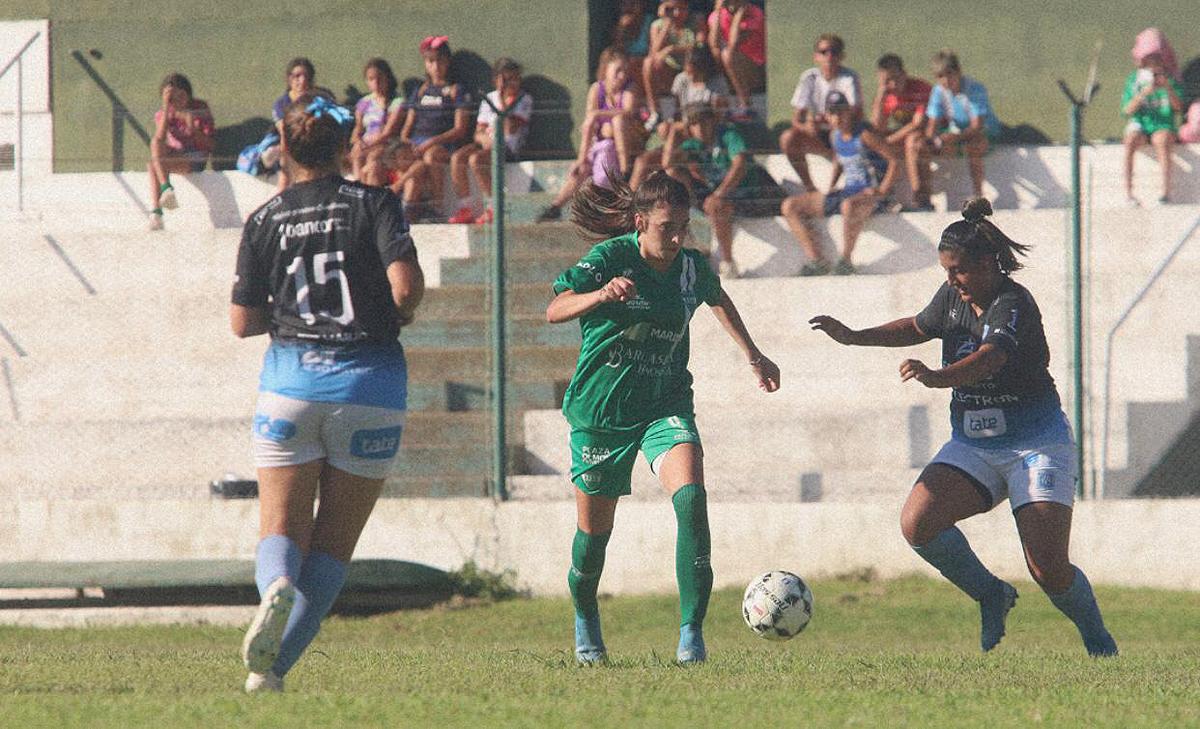 """Marilyn Traghetta suma tres goles en su cuenta personal y, junto a Pilar Morero, son las máximas artilleras de las """"lobas""""."""