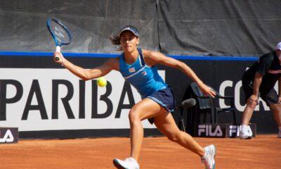 Lourdes Carlé obtuvo el mejor triunfo de su carrera ante Rybakina.