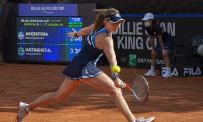 Nadia Podoroska no pudo llevar a la Argentina a las clasificaciones de la Billie Jean King Cup.