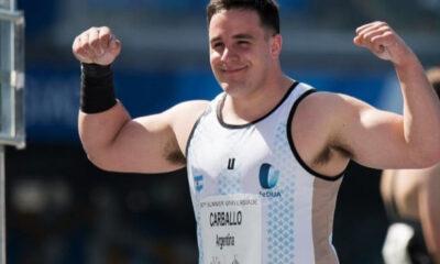 """""""Nacho"""" buscará mejorar sus propias marcas en lanzamiento de bala para sumar puntos valiosos que lo mantengan en la lucha rumbo a los Juegos Olímpicos de Tokio."""