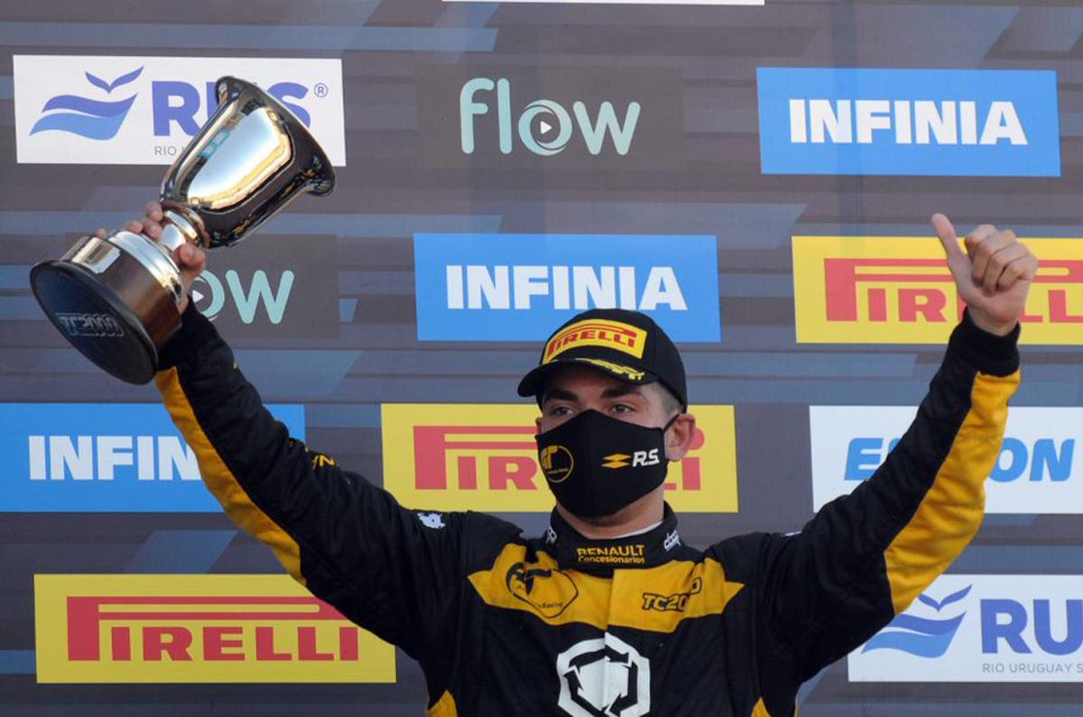"""""""Fue una carrera excelente, hemos mejorado mucho el ritmo respecto del Sprint, el equipo trabajó muy duro"""", dijo Marques."""