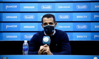 Farré fue presentado como DT de Belgrano.