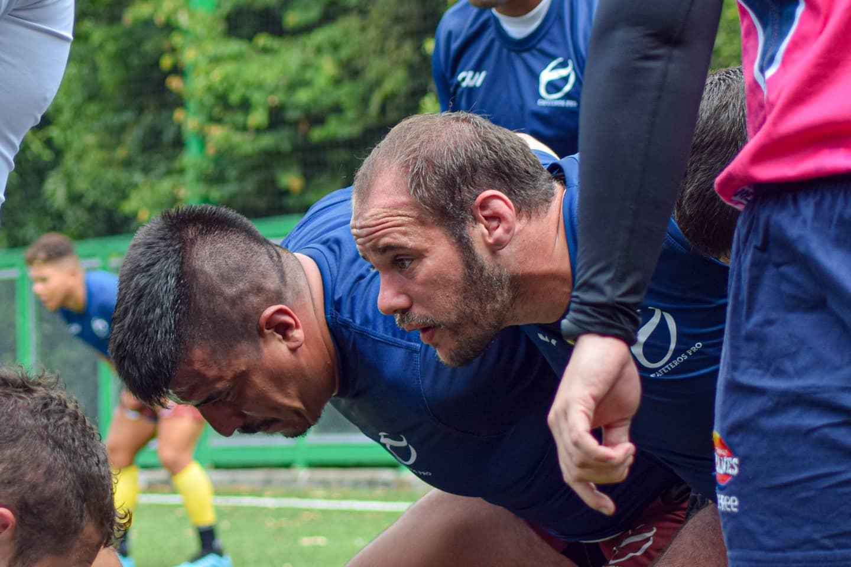 Agustín Acosta jugó para Cafeteros Pro de Colombia la Superliga Americana.