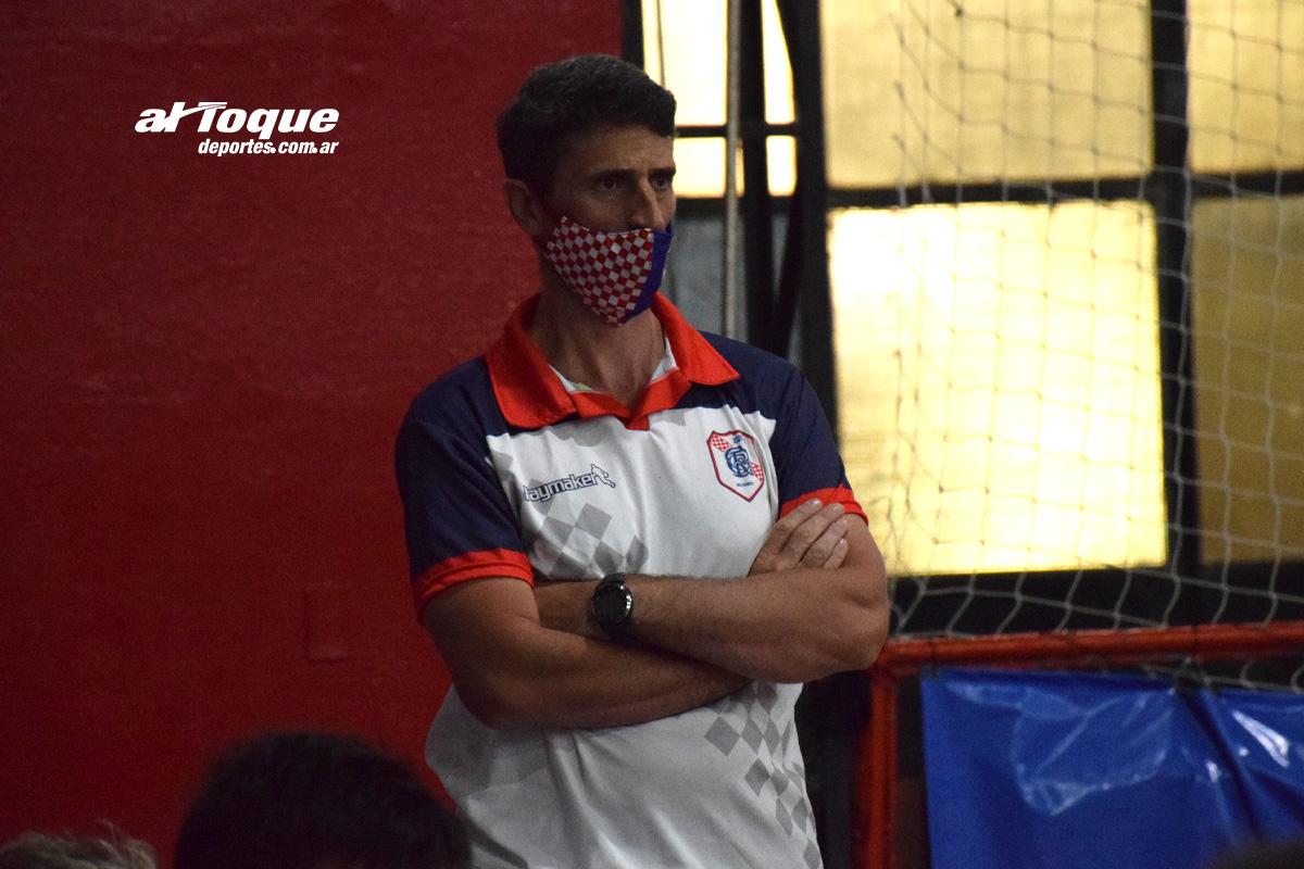 Martín El Kadre tomó la iniciativa para aportarle materiales a los chicos del club.