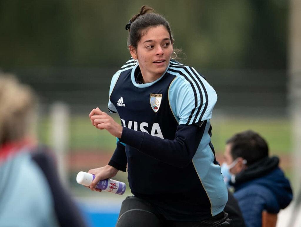 """""""Es como dije aquella vez, la posibilidad de estar en la lista final de los Panamericanos es tachar uno de los objetivos de este año""""."""