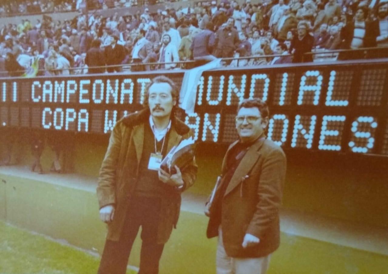 Garzón Itarte recordó su experiencia en el Mundial '78.