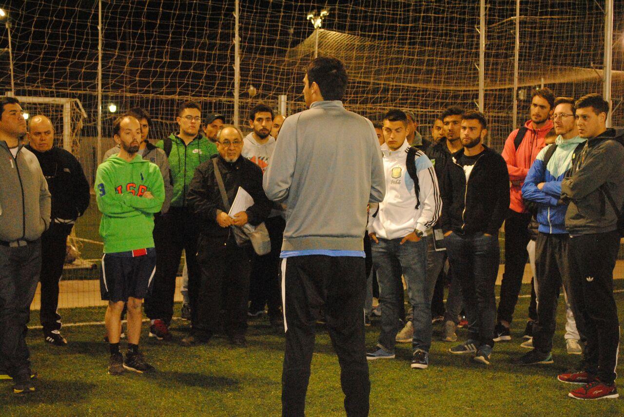 Guillermo Núñez dará una capacitación deportiva.