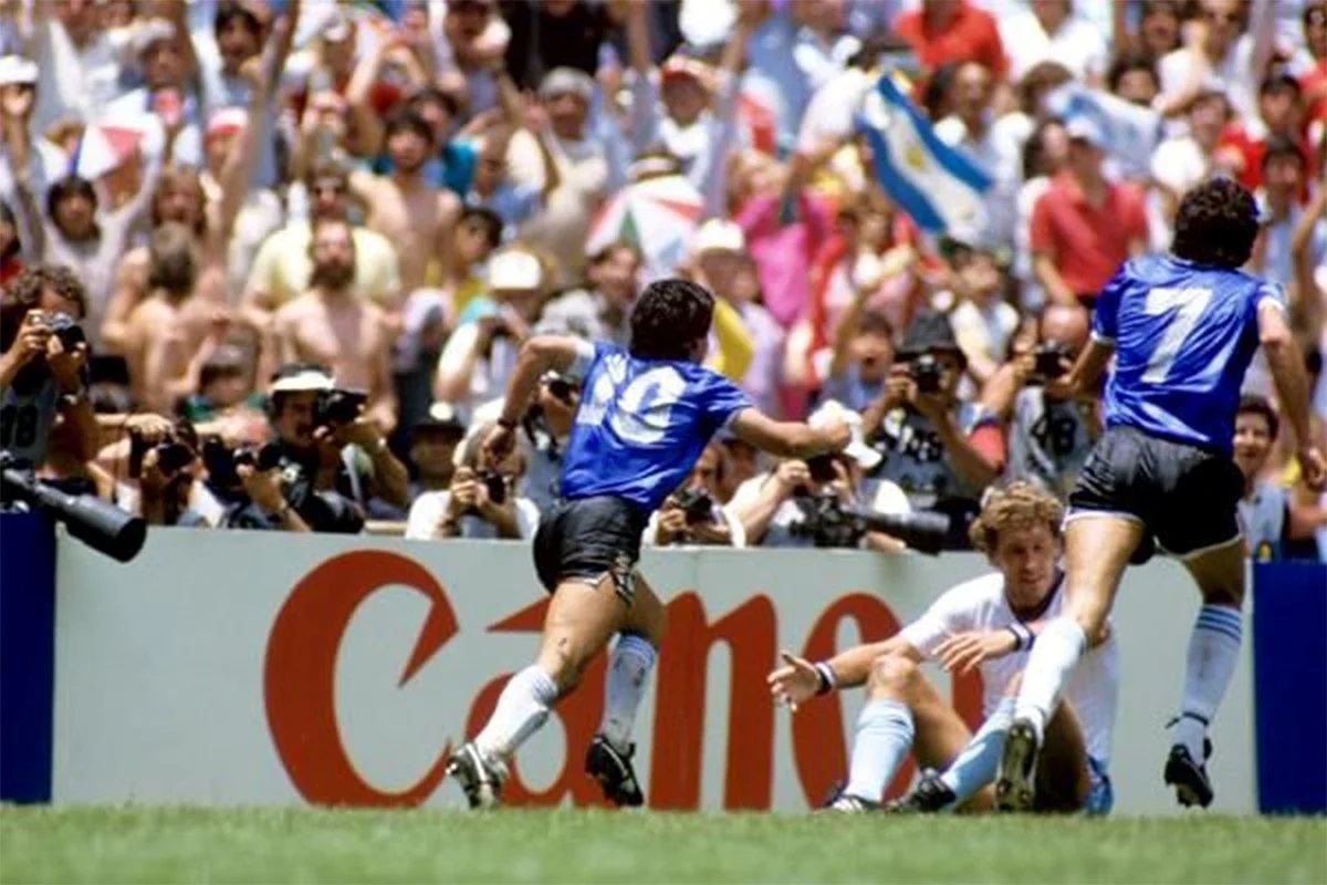 Gol de Maradona a los ingleses
