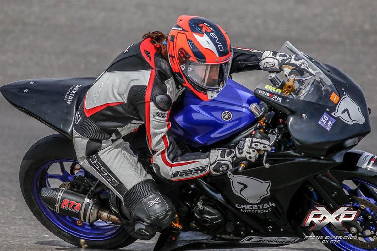 """""""Me metí en el motociclismo porque es algo que me salía de adentro"""", expresó Guidetti."""