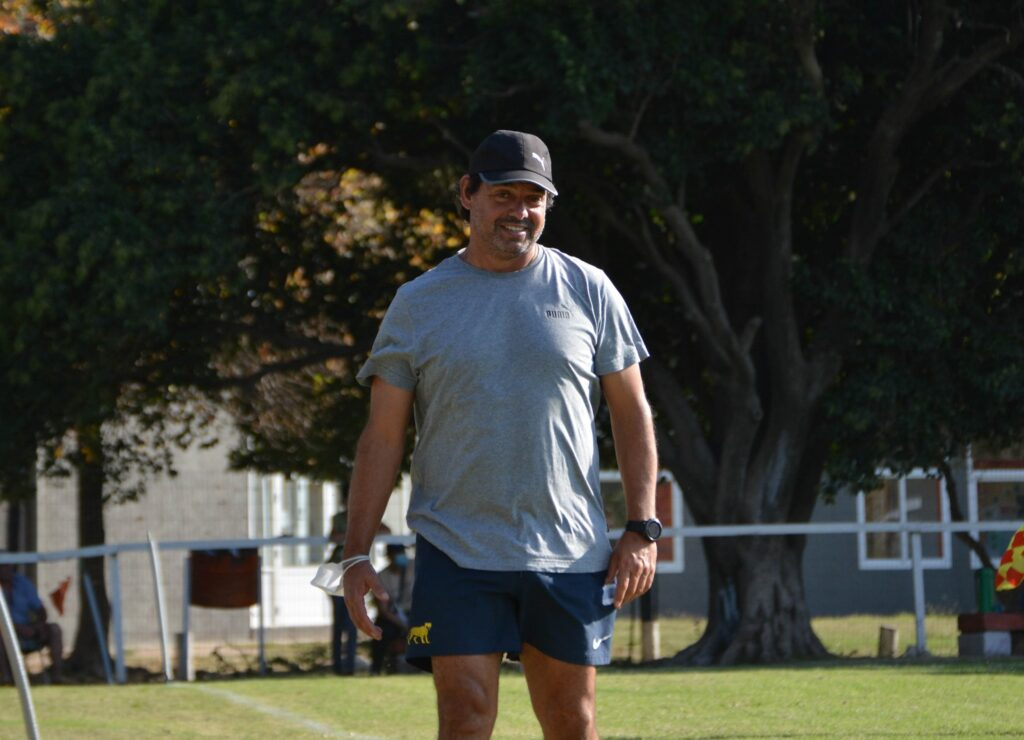 Federico Morelli, head coach de Aero Club.