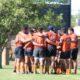 El equipo masculino del Jockey Club durante la pretemporada.