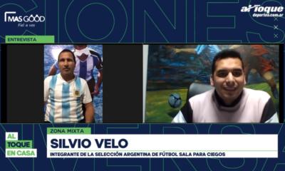 Zona Mixta con Silvio Velo, el Maradona de la Selección Argentina para ciegos.