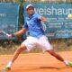Leandro Migani en su último año como tenista profesional.
