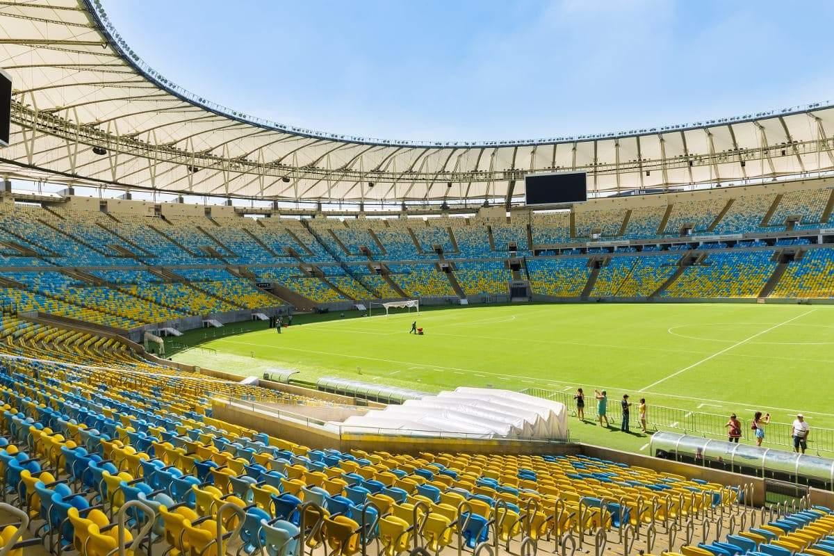 El imponente Maracaná, donde se jugará la final de la Copa América 2021.