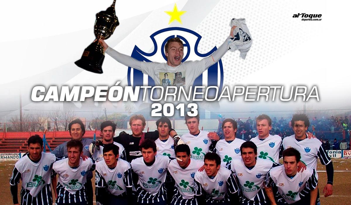 Un día como hoy, Atlético Sampacho escribió la página más importante de su historia en la Liga Regional de Fútbol de Río Cuarto en la memorable tarde del domingo 21 de julio de 2013.