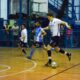 Estudiantes y Atenas durante el Clausura 2019 de futsal.