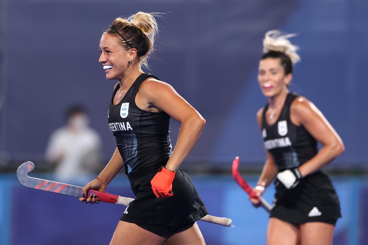 Jankunas celebra su gol ante China.