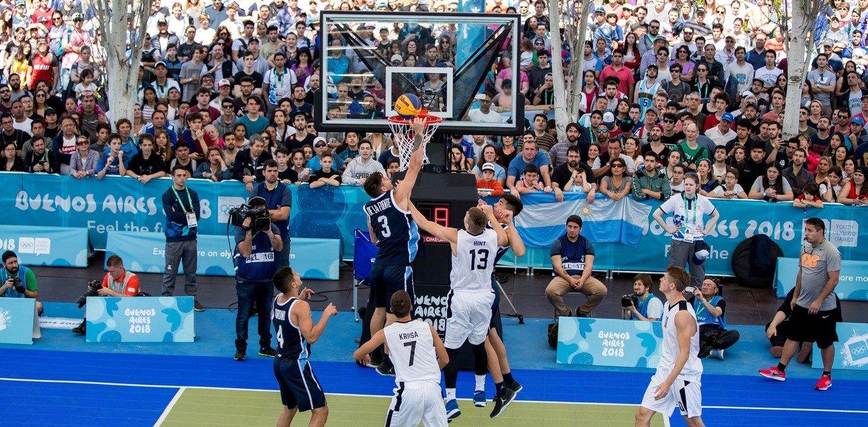El básquet 3x3, nueva modalidad en los Juegos Olímpicos.