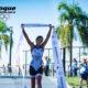 Romina Biagioli, la cordobesa que competirá hoy en triatlón.