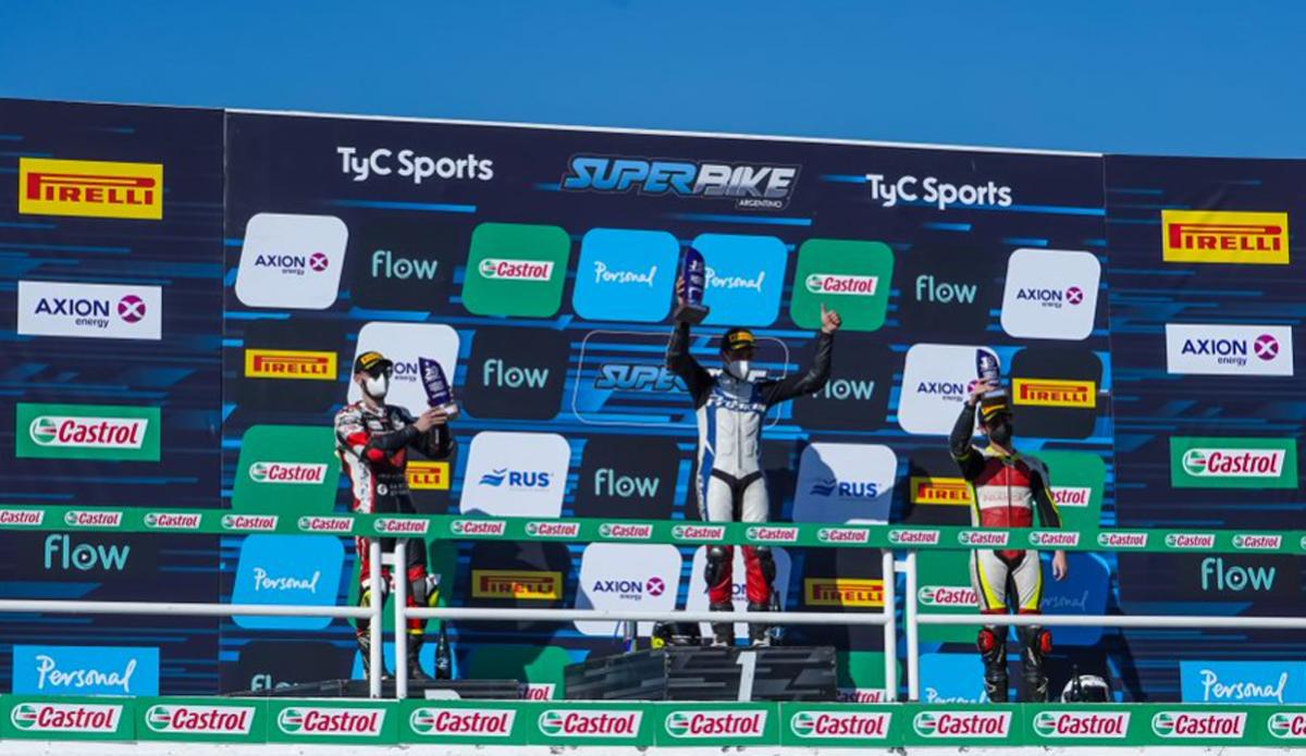 Santiago Frasca fue tercero en Buenos Aires.