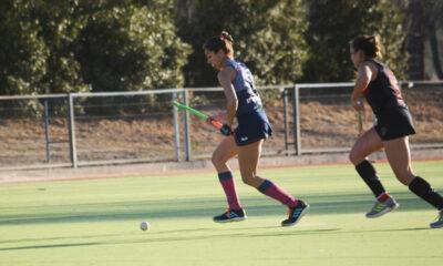 Julieta Bin fue autora del gol del descuento para el local.