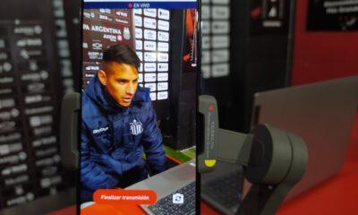 """Auzqui sobre la victoria ante Estudiantes: """"Se encontraron con el gol y nos descolocaron"""""""