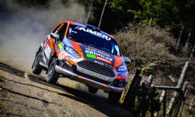 Francisco y Martín Herrera sumaron el cuarto podio en igual cantidad de presentaciones en la temporada 2020/21 del Rally Cordobés.
