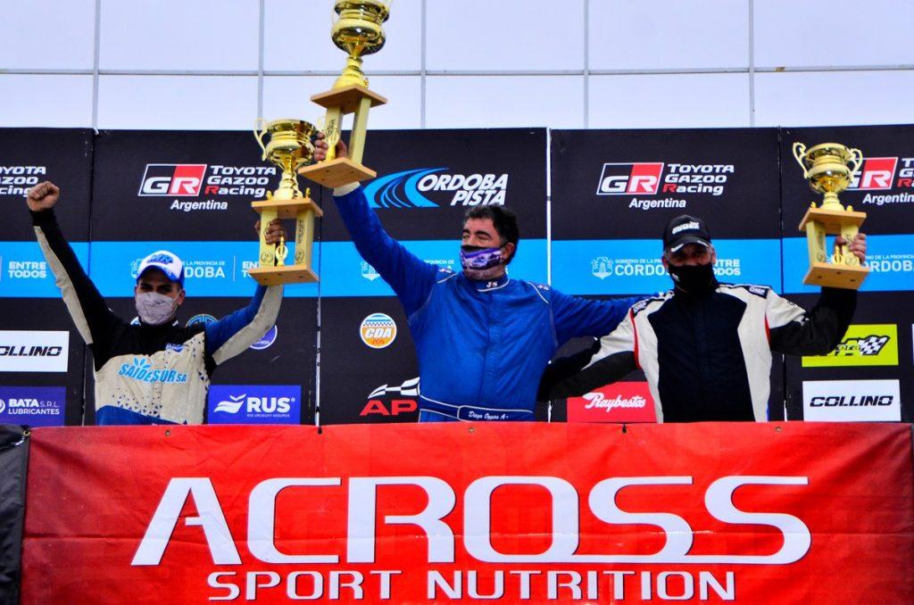 el riocuartense Diego Oggero ganó en el TC Pista 4000.