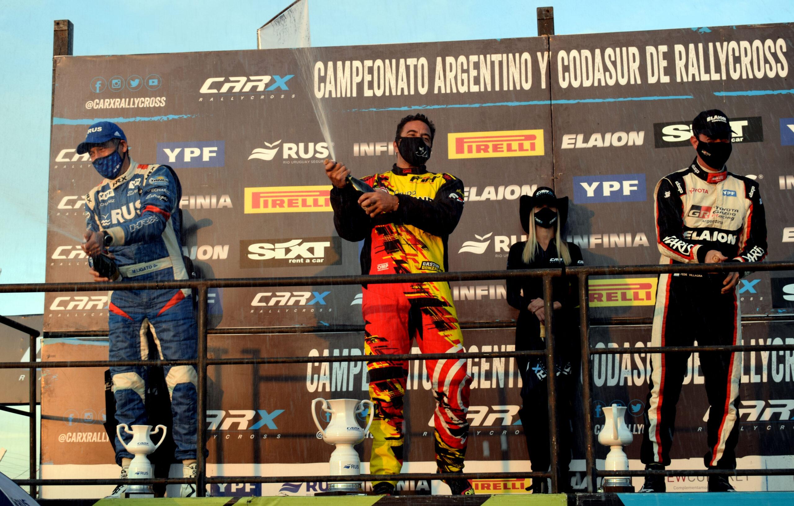 El riocuartense Gastón González se mantiene al tope de las posiciones del CarX.