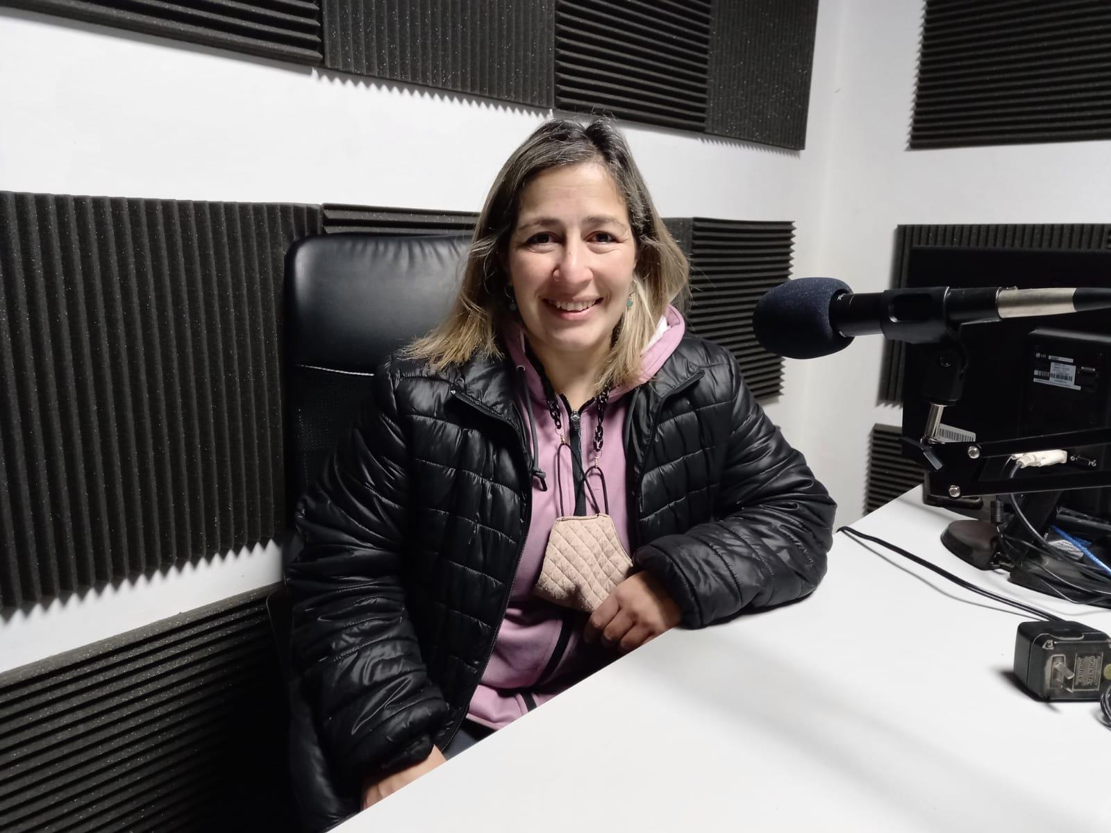 Pamela Domínguez, histórica gimnasta de Central Argentino.