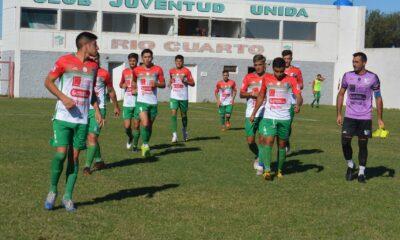 El líder Juventud Unida visitará a Atlético Sampacho en la reanudación.