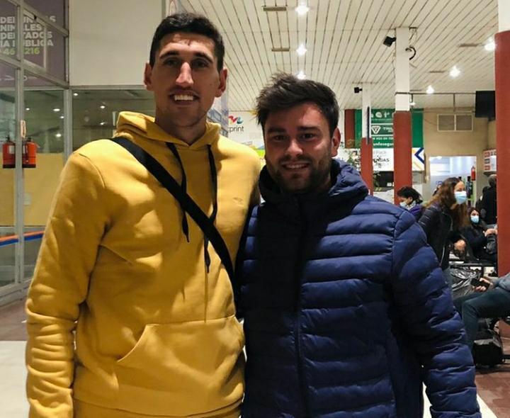 Leandro Bacaloni sumará su primera experiencia en el exterior a la edad de 25 años.