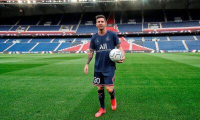 Messi será presentado esta tarde ante el público del PSG.