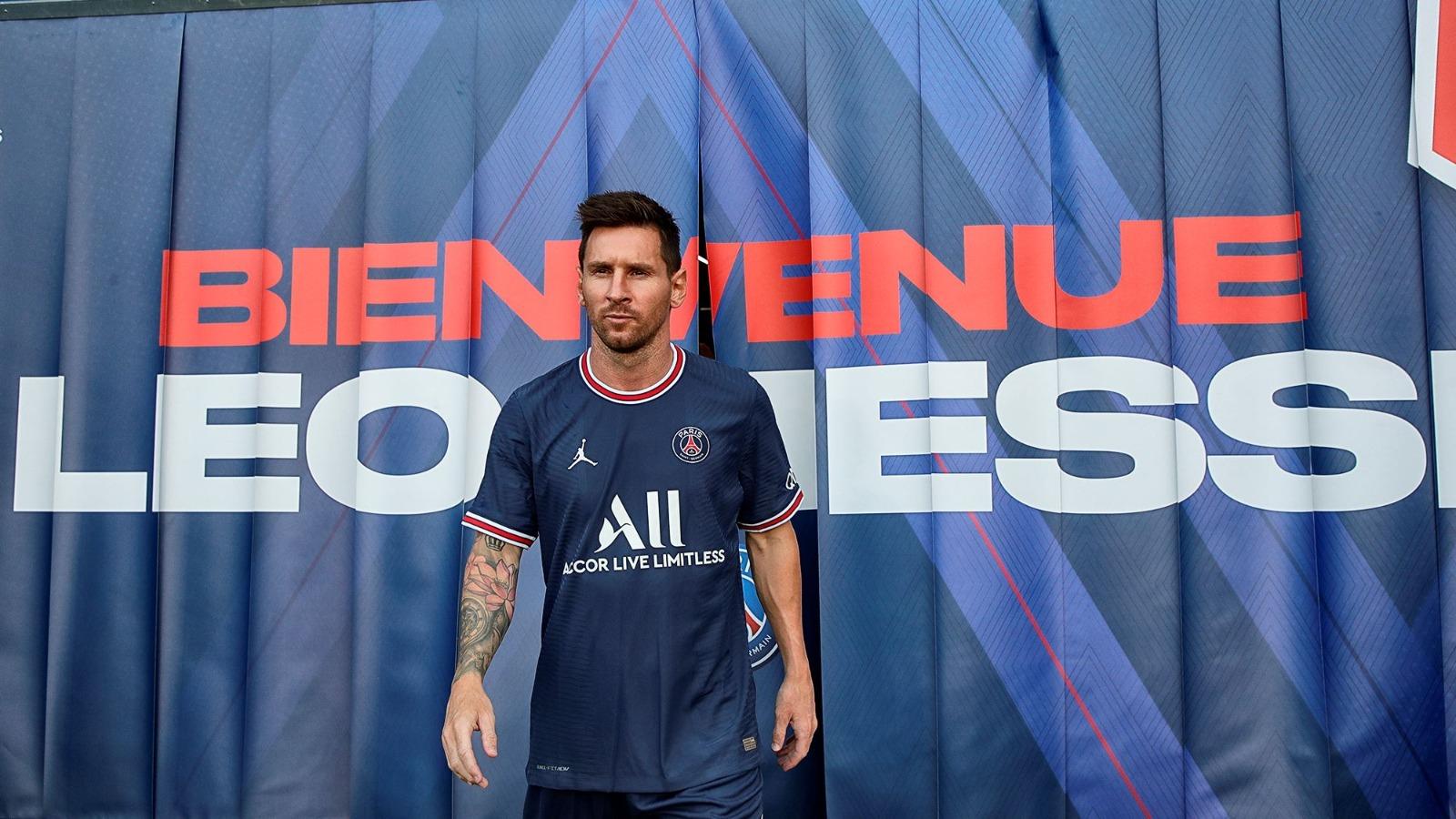 Messi debutaría a fines de agosto en el PSG.