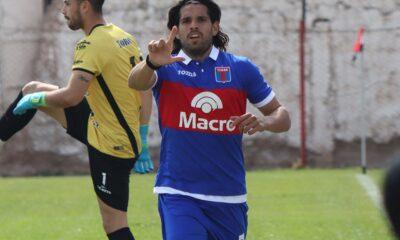 Pablo Magnín llegó a su tanto números 16 en lo que va de la Primera Nacional.