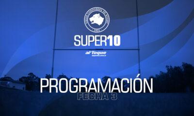 La programación de la tercera fecha del Súper 10.
