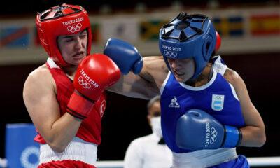 Dayana Sánchez, la cordobesa de 28 años que se convirtió en la primera mujer en representar el país en boxeo en la máxima cita del deporte mundial.