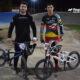 Ignacio Cattana y Federico Capello, los valores del BMX local.