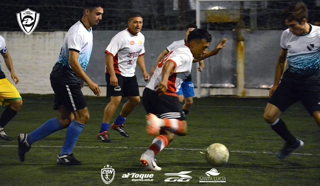 Se jugaron este miércoles tres partidos correspondientes a la undécima fecha de la primera edición de la Copa Al Toque.