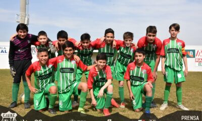 Este pasado sábado 28 de agosto se disputó la primera fecha del torneo infanto juvenil.