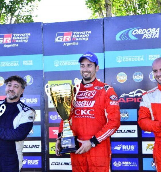 Juan Pablo Baruca debutó en el TC4000 con doble podio.